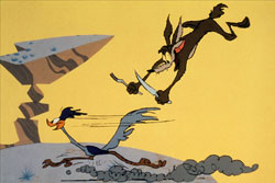 Did Wile E. Coyote ever catch the Road Runner?