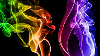 Colour Flames